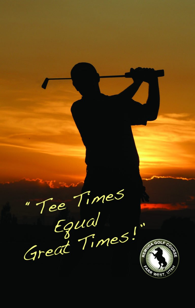 Event poster remuda tee times