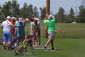 Remuda range golfers