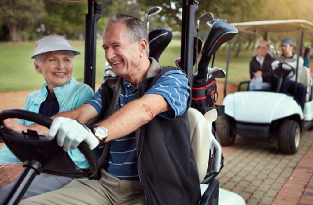 senior golfer etiquette