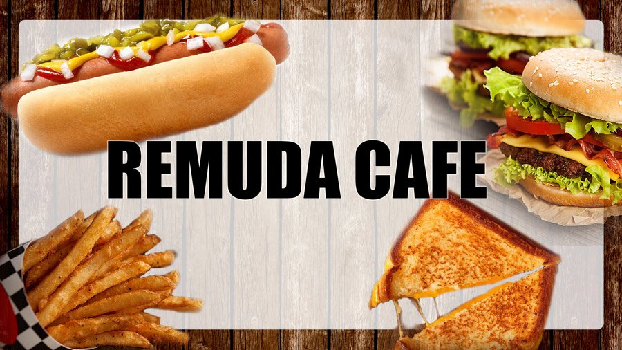 Cafe Remuda sign