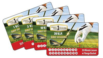 Lesson Punch Cards Remuda Crane Golf