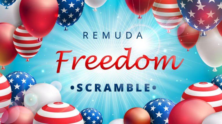 freedom scramble graphic