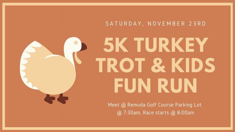5k turkey trot run at Remuda