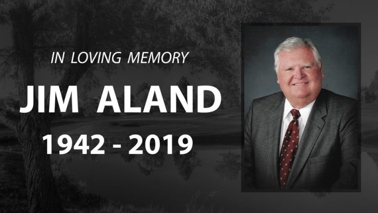 In memory Jim Aland