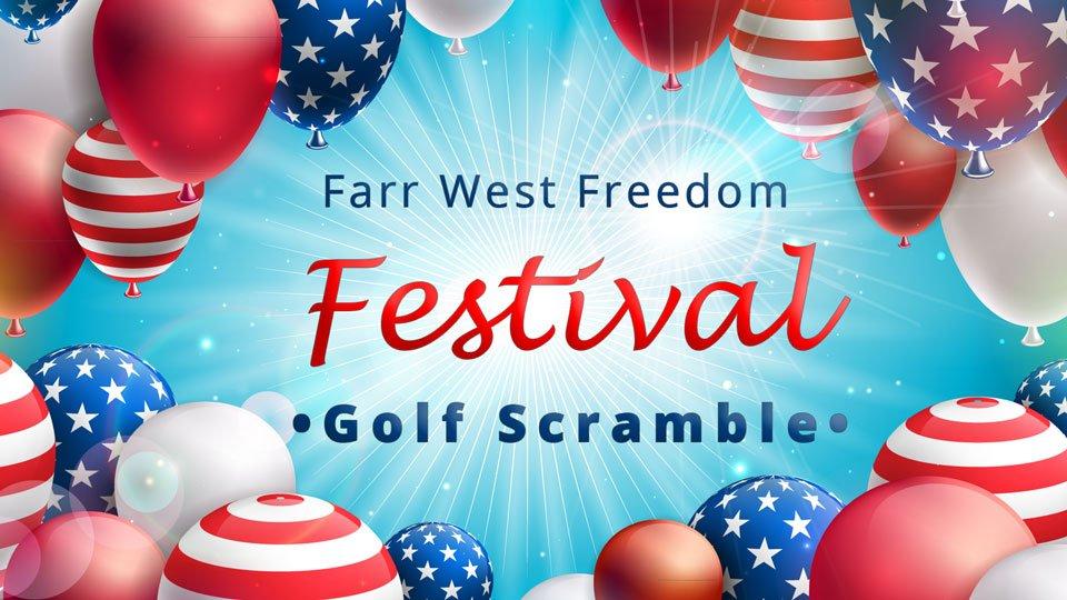 Farr West Freedom Festival golf scramble