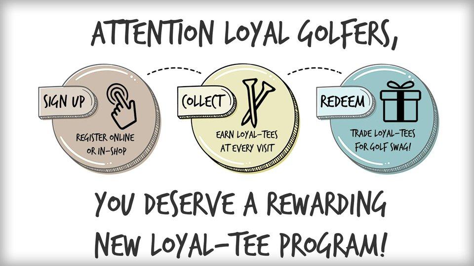 Loyal-Tee™ Program graphic